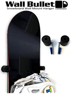 Attraktiv SkateHoarding Wall Bullet Snowboard Wall Mount Display Hanger Rack
