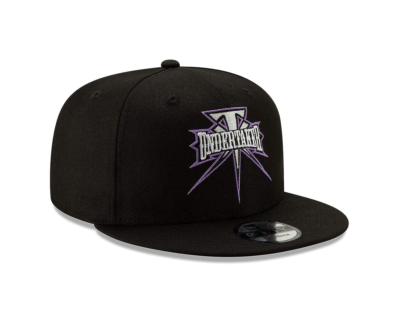 World Wrestling Entertainment Undertaker Unisex 9FIFTY Snapback Cap950 UNDTAK Undertaker BLK PURP OSFM Black