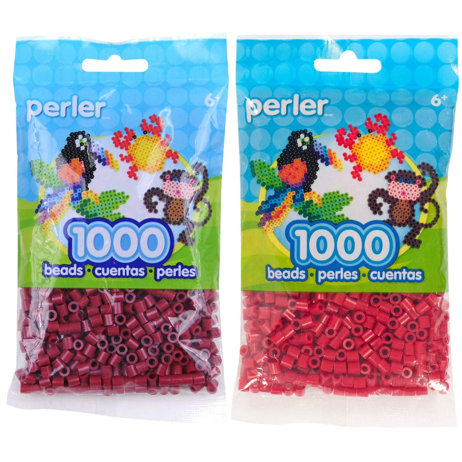 Canutillos beads 2000 unidades (pack x2) Cranapple/Cherry