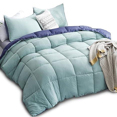 Super Soft Duvet Down Alternative Comforter Set Insert Washable All Season