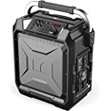 Monster Rockin' Roller 3   100W Portable Indoor/Outdoor Water Resistant Wireless Speaker with TWS Technology (Connect 2 Speakers Wirelessly) and NOAA Weather Radio