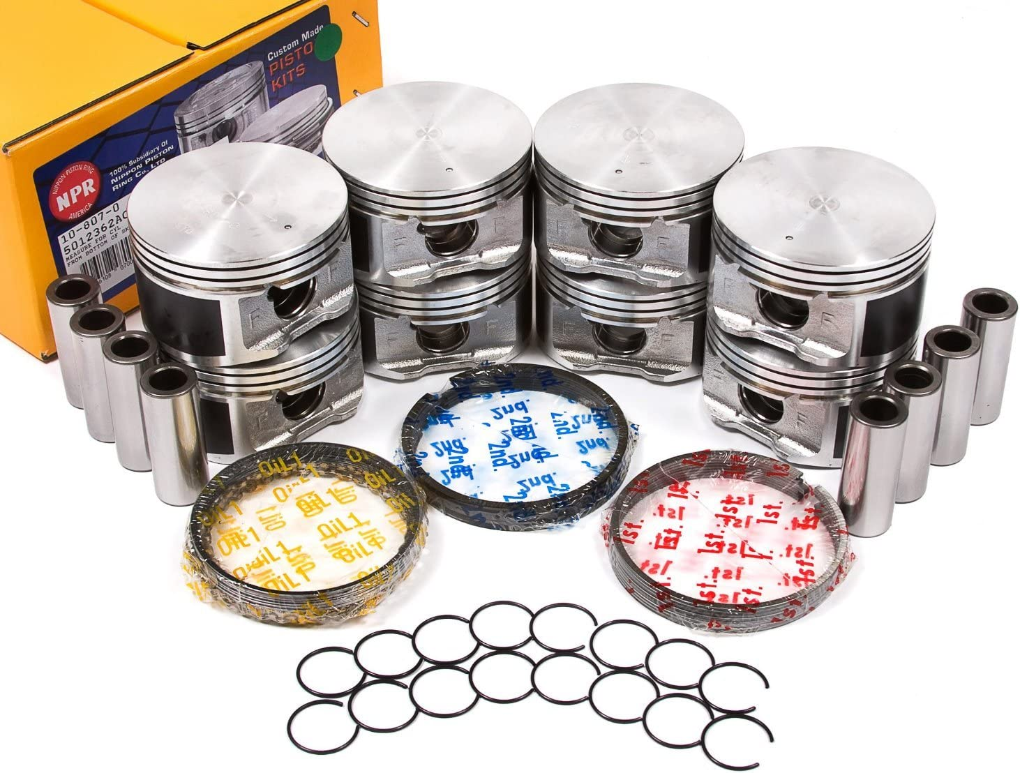 Dodge Chrysler Jeep 2003-2008 5.7 Piston Pistons and Rings