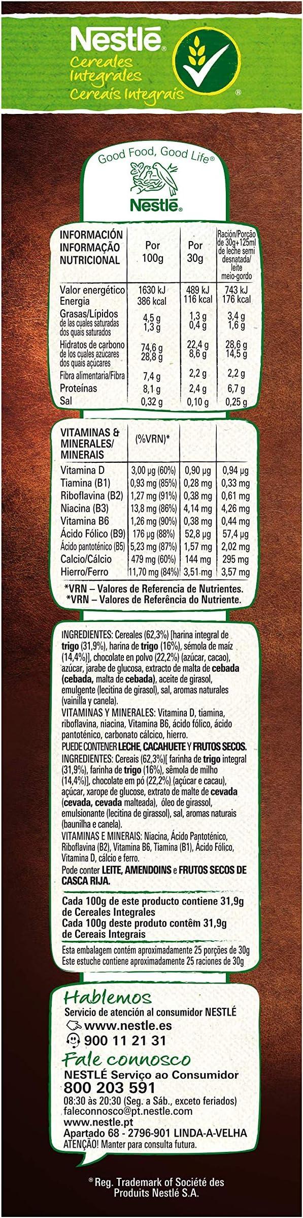 Cereales Nestlé Chocapic - Cereales de trigo y maíz tostados con ...