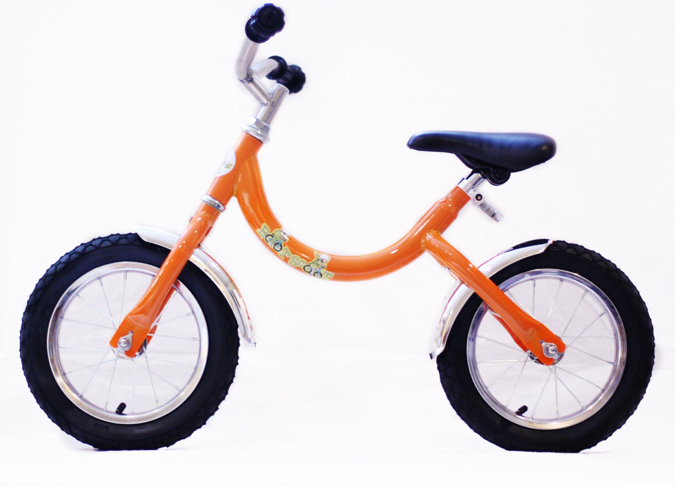 Boot Scoot Bikes Children's Cruiser Balance Bike, Orangesicle