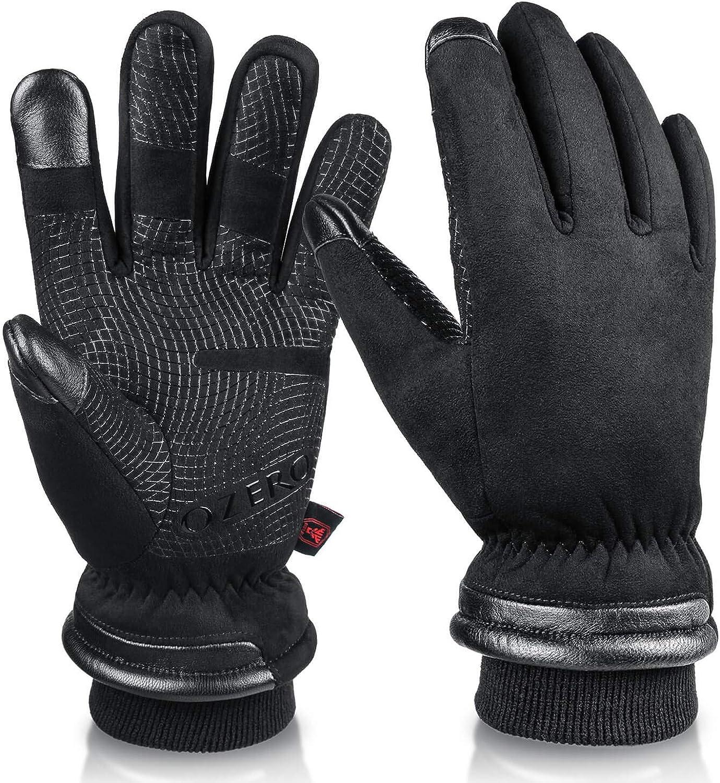 Winter Thermal Men Women Gloves Ski Snowboarding Driving Work Sports Warm Mitten