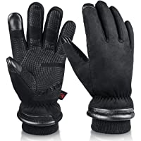 $29 » OZERO Waterproof Winter Gloves Men Women -30 ℉ Cold Proof Touchscreen Anti Slip Silicon…