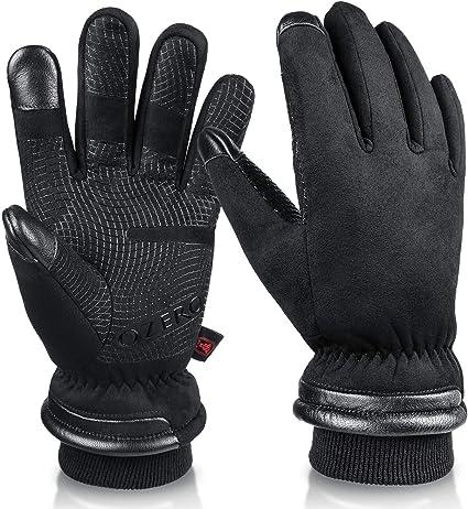 OZERO Waterproof Winter Gloves Men Women