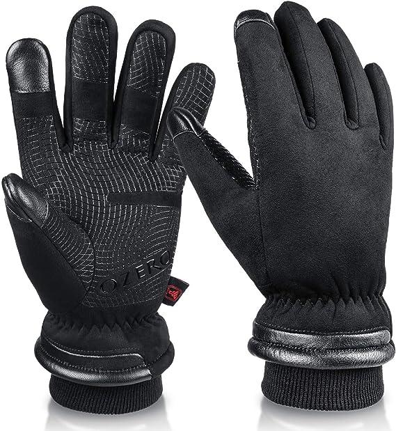 best hunting gloves: OZERO Waterproof Gloves Men Women