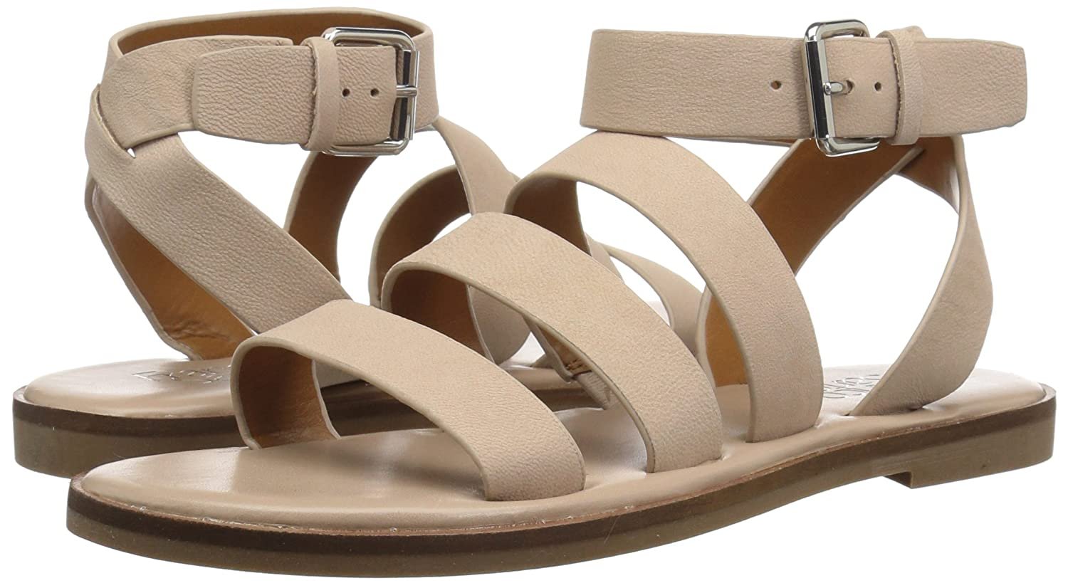 Franco Sarto Women's Kyson Flat US|Light Sandal B078VCSQR2 8.5 B(M) US|Light Flat Bone f56ec4