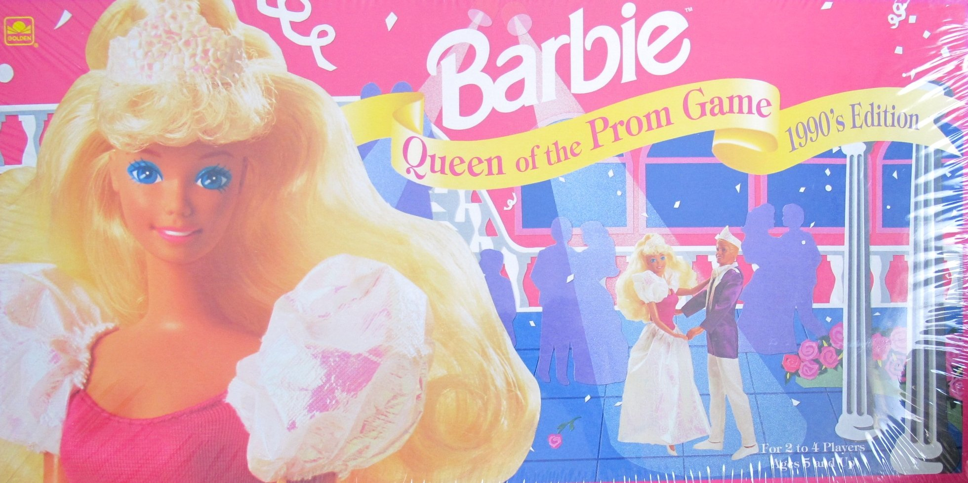 BARBIE 1990's Edition QUEEN of THE PROM GAME (1991 Made in USA)