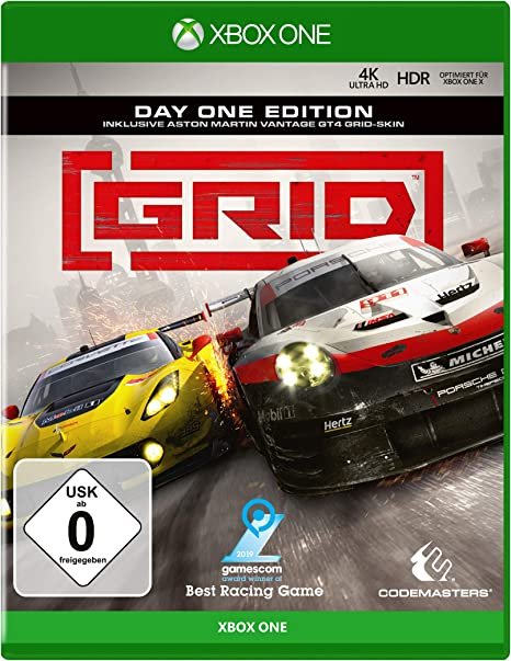 GRID (Day One Edition) [Xbox One] [Importacion Alemania]: Amazon.es: Videojuegos