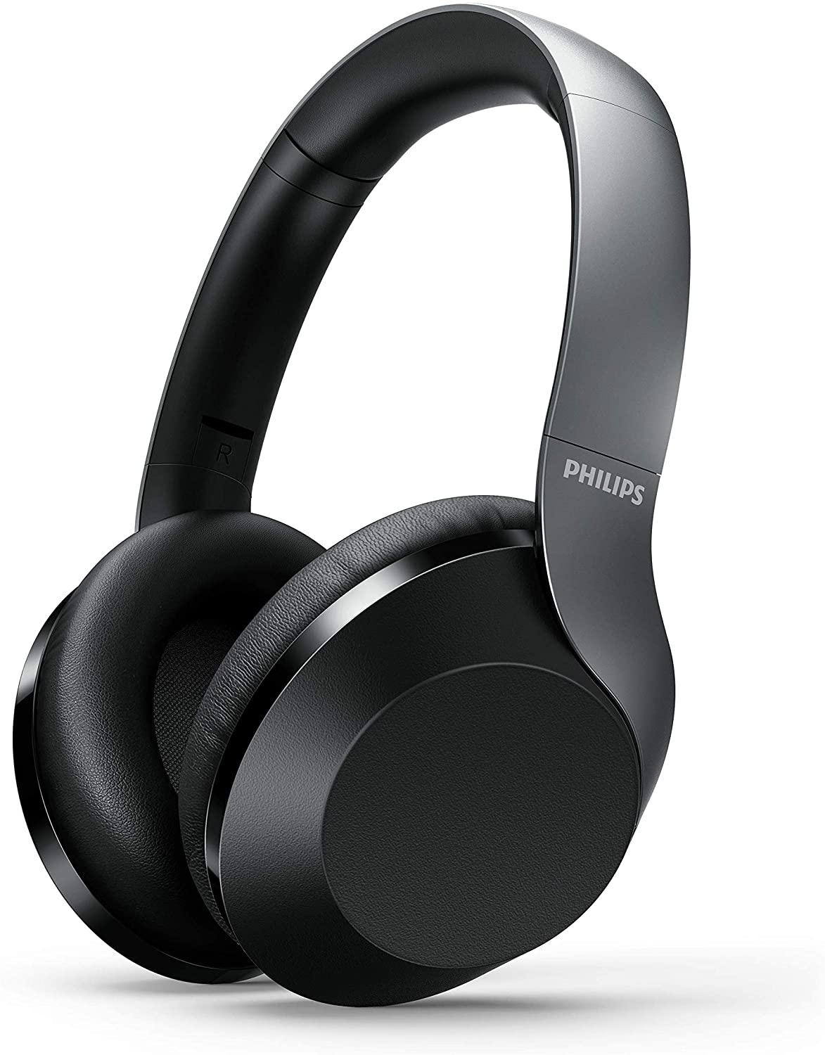 Philips PH805 Active Noise Canceling (ANC) Over Ear Wireless Bluetooth Performance Headphones w/Hi-Res Audio, Comfort Fit and 30 Hours of Playtime (TAPH805BK) myusamart