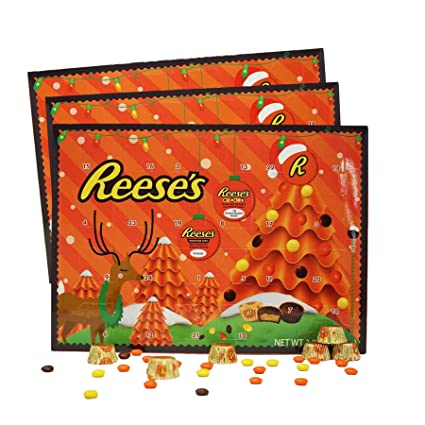 2020 Reese's Holiday Countdown Christmas Advent Calendar with