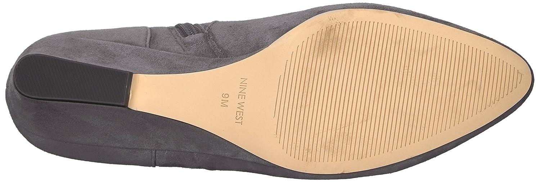 Nine West Women's Jaen Suede Knee High Boot B072MNZP34 10 M US|Dark Grey Suede