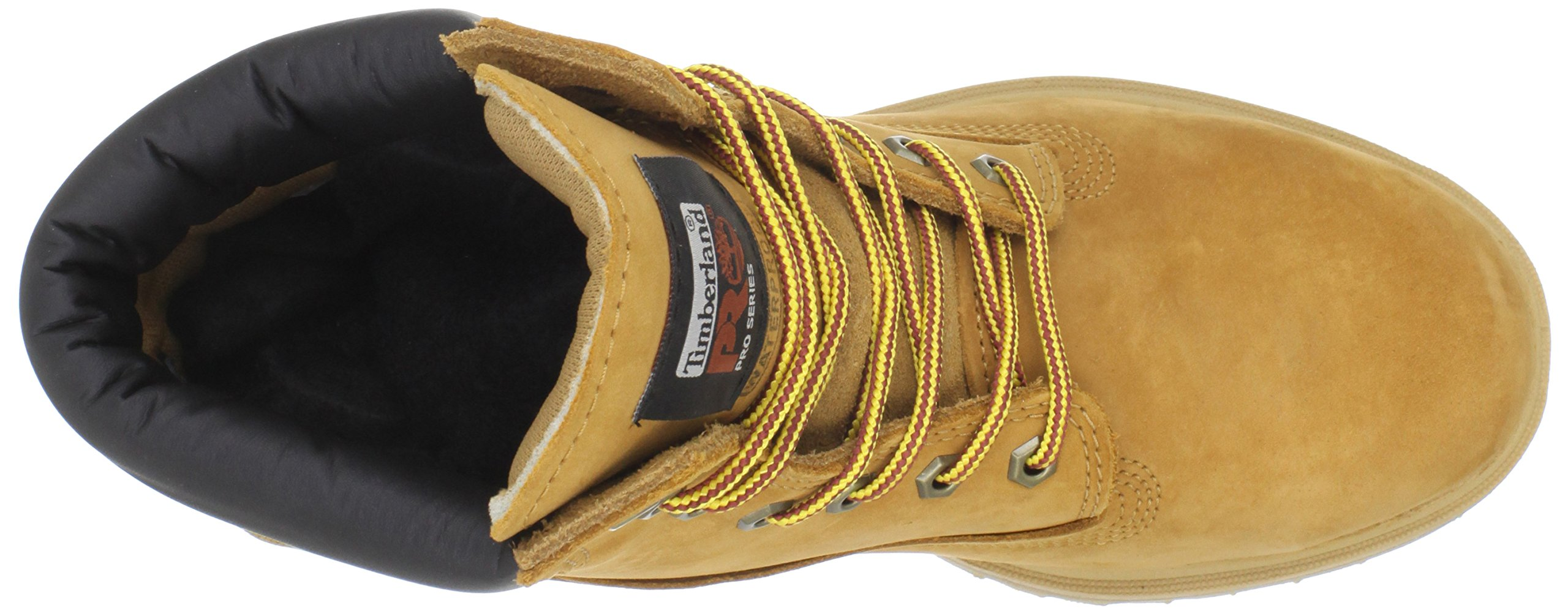 Timberland PRO Men's 65016 Direct Attach 6'' Steel Toe Boot,Yellow,9.5 W by Timberland PRO (Image #8)