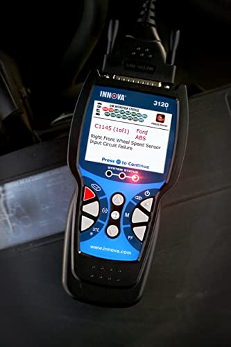 INNOVA 3120 is one of the best diagnostic tool that supports three color emission status warning lights