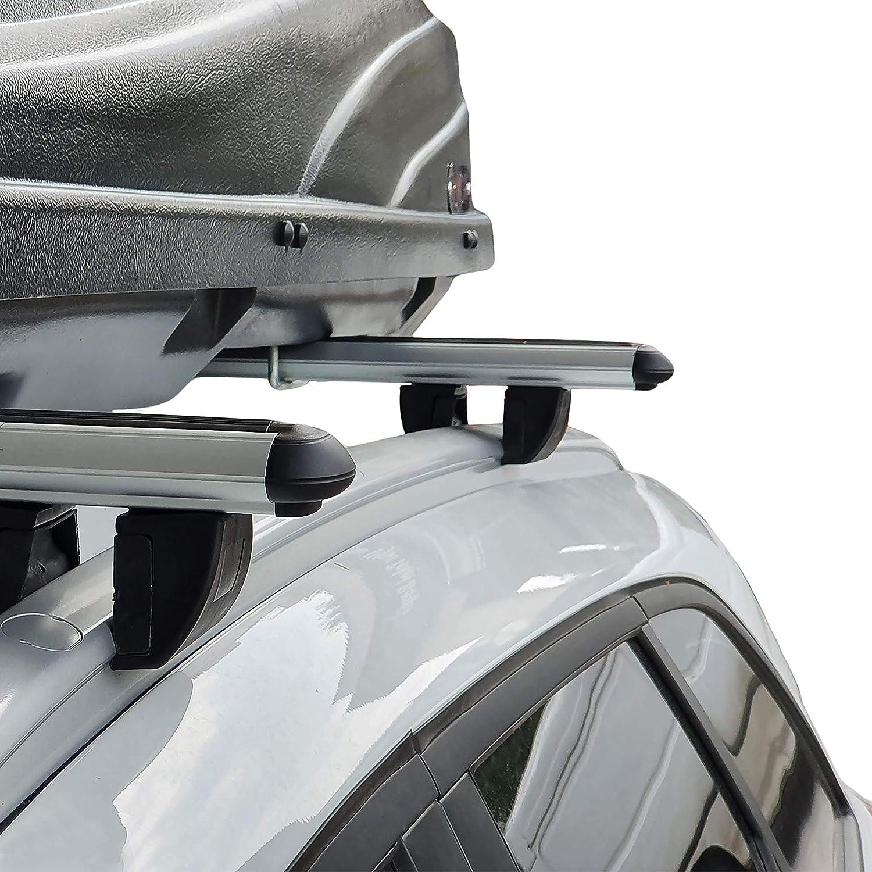 accessorypart Dachtr/äger f/ür Ford Kuga 2013-2020 Gepacktr/äger Aluminium Grau