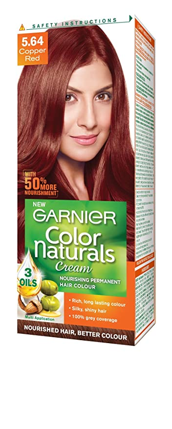 Garnier Color Naturals Shade 564 Copper Red 70ml 40g Amazon