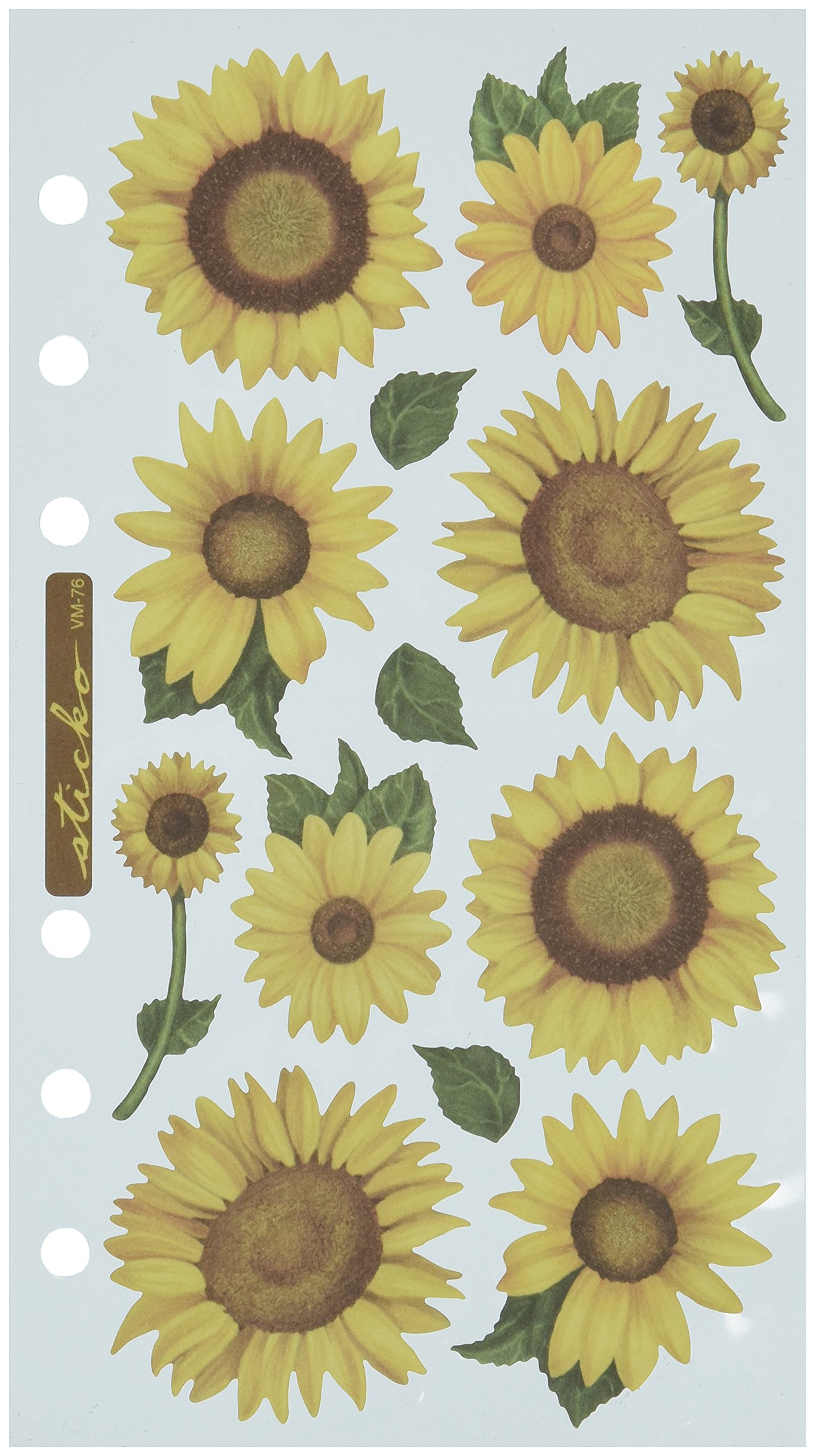 Sticko Stickers, Sunflowers by Sticko (Image #1)