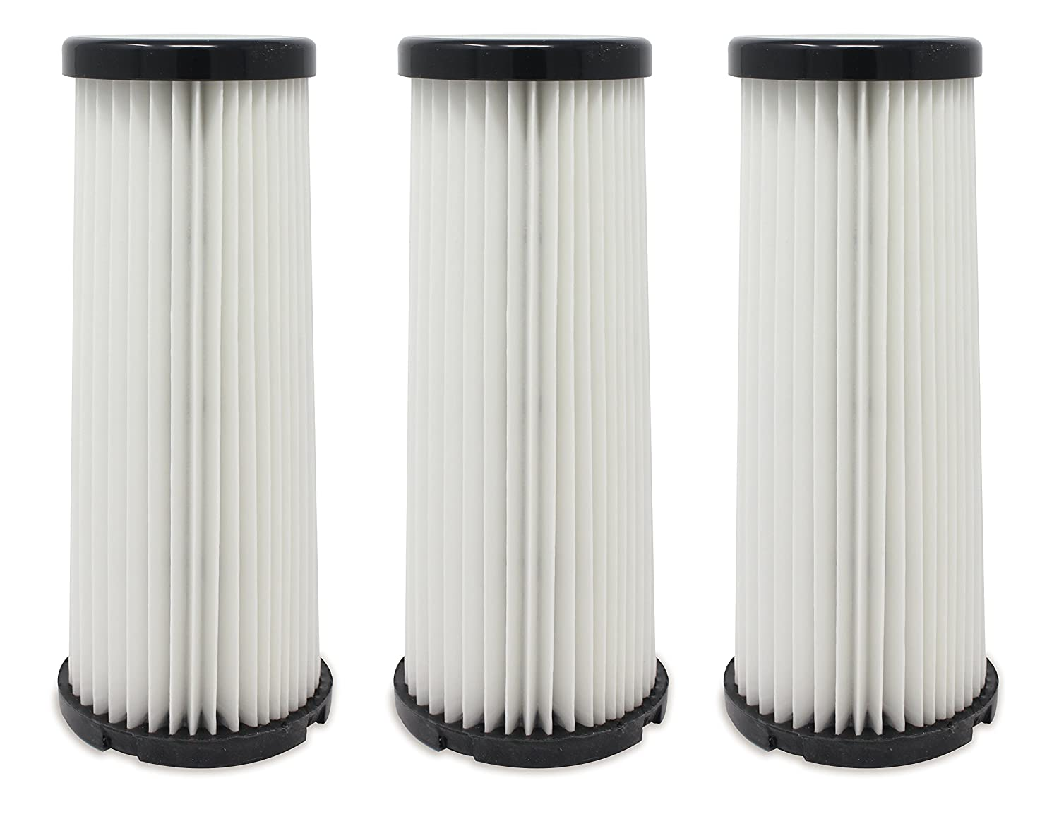 2-JC0280-000 Pack of 3 F-1 Fette Filter Compare to Part # 3JC0280000 3-JC0280-000 /& 2JC0280000 Vacuum HEPA Filter Compatible with Dirt Devil F1