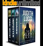 The Alex Files: Books 1 - 3: Alexandra Destephano Medical Thriller Novels (Women of Valor)