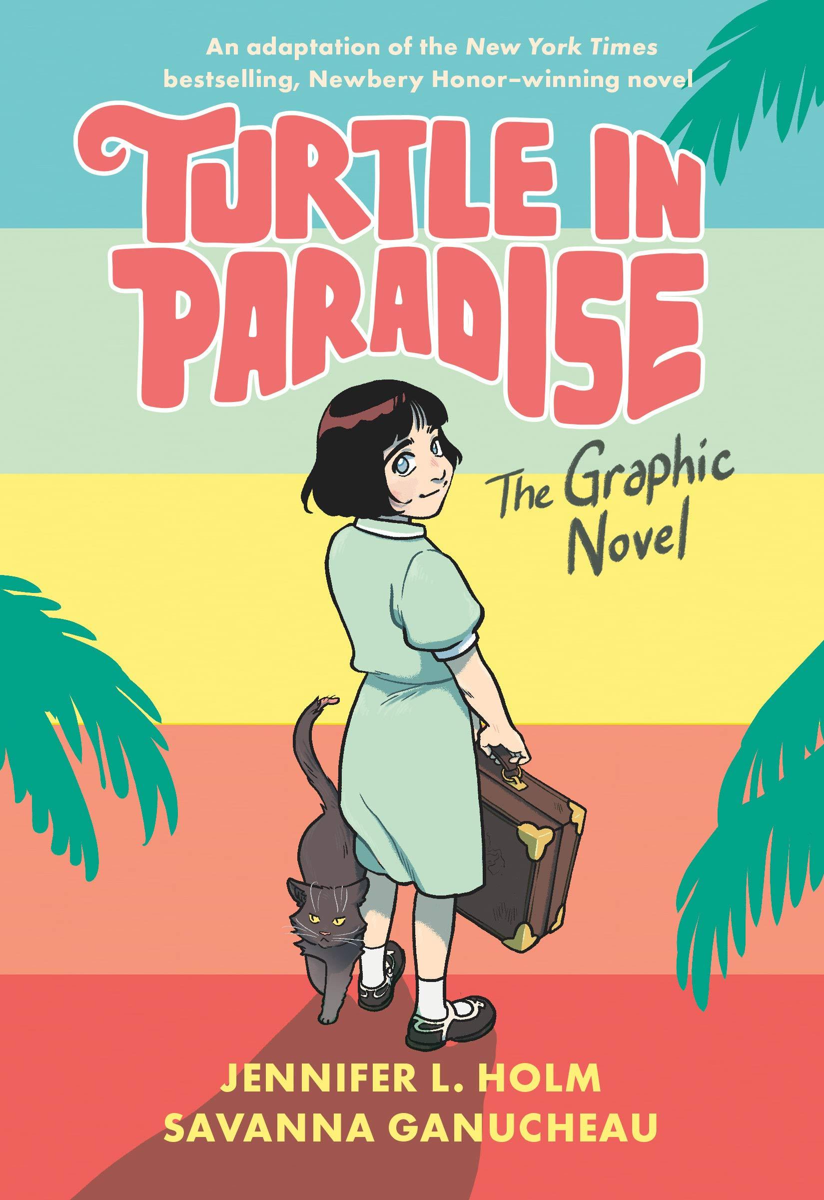 Amazon.com: Turtle in Paradise: The Graphic Novel (9780593126318): Holm,  Jennifer L., Ganucheau, Savanna: Books