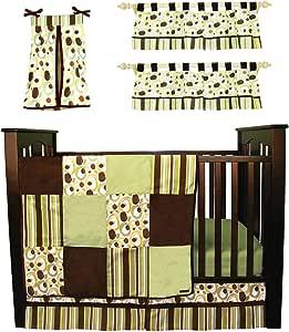 Amazon Com Trend Lab Baby Crib Bedding Set 6 Pc