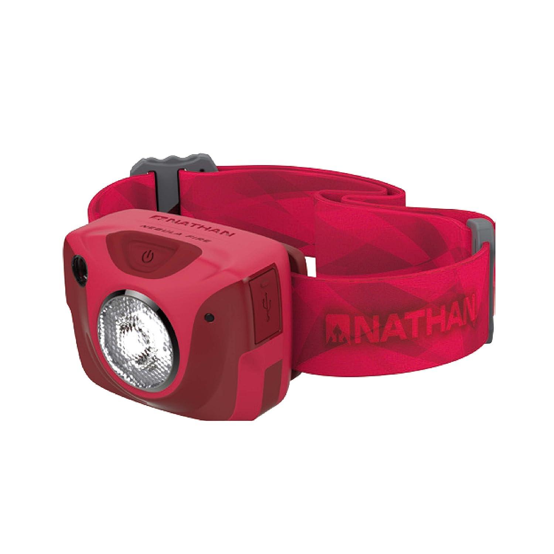 NATHAN Stirnlampe LED rot Einheitsgröße