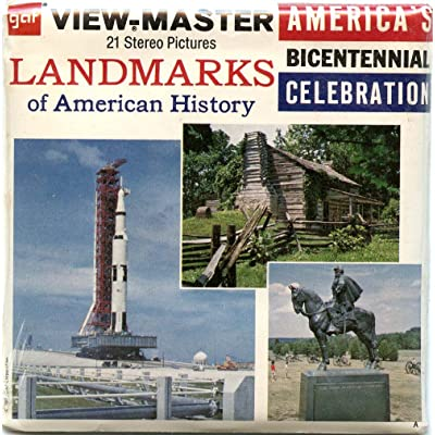 Classic ViewMaster - Landmarks of American History - History - ViewMaster Reels 3D - Unsold store stock - never opened: Toys & Games