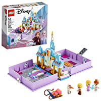 LEGO Disney Anna and Elsa's Storybook Adventures 43175 Creative Building Kit for...