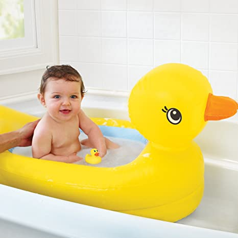 Munchkin White Hot Bath Ducky Temperature Indicator Thermometers Baby Bath BNIP