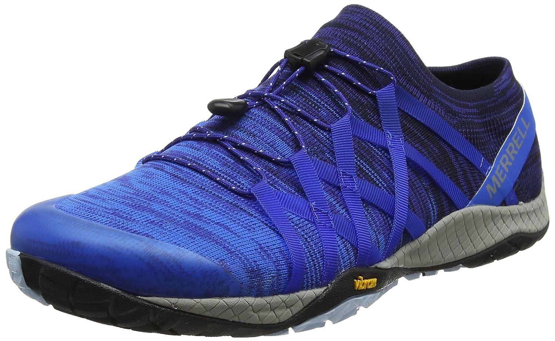 Merrell Trail Glove 4 Knit, Zapatillas de Running para Asfalto para Hombre 41 EU|Azul (Navy)