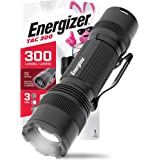 ENERGIZER LED Tactical Flashlight, IPX4 Water Resistant, Super Bright, Heavy Duty Metal Body, Built For Camping, Outdoors, Em