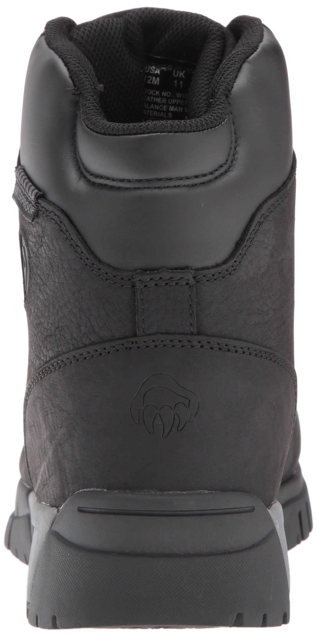 Wolverine Men's Mauler LX Composite Toe Waterproof Work Boot Black 7 W US by Wolverine (Image #2)