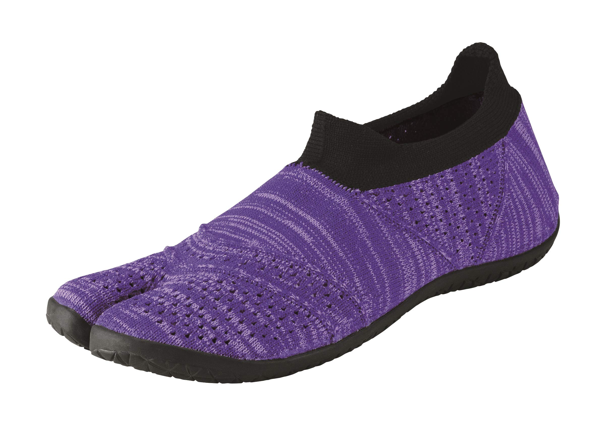 Marugo] hitoe PP235US5H Unisex Tabi Style, Minimalism Barefoot Core Training Shoes, Seamless Upper with Rubber Outsole. by Marugo