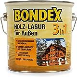 Bondex 3in1 Holzlasur für außen 2,50 Liter eiche hell