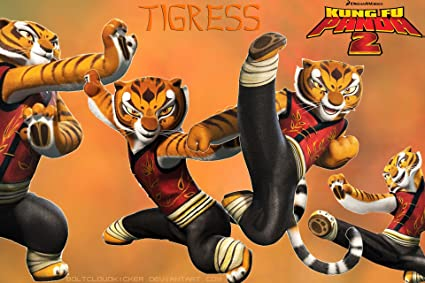 Posterhub Movie Kung Fu Panda 2 Angelina Jolie Tigress Hd Wall