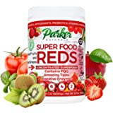 Superfood Reds by Parker Naturals Organic Antioxidant Powder: Super Food Energy Mix with SuperFruits and SuperGreens. High OR