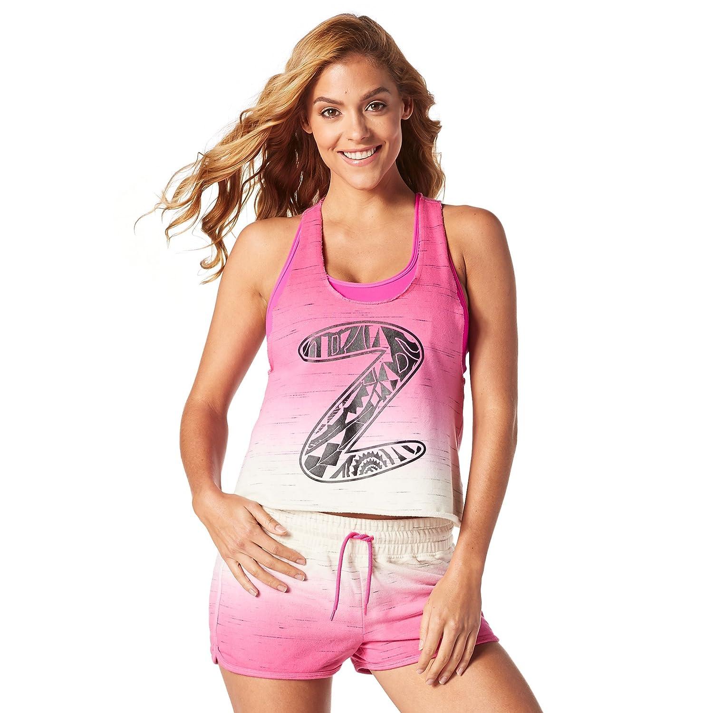Zumba Women's When The Sun Goes Down Crop Tank Zumba Fitness Z1T01219
