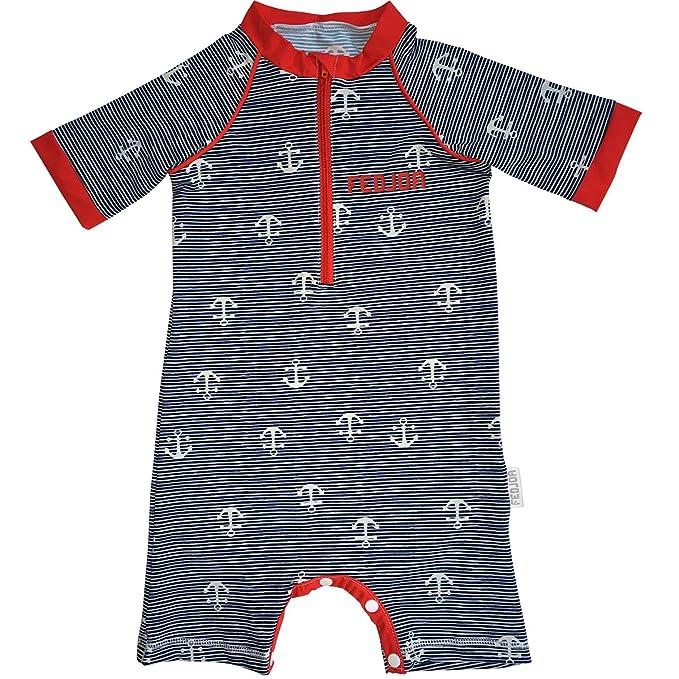 FEDJOA - Bañador - para bebé niño Rojo 24-36 Meses: Amazon.es ...