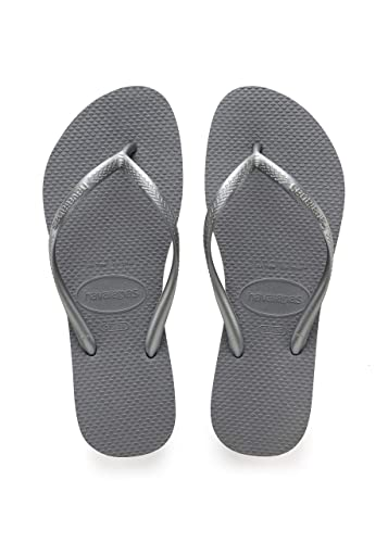 71c4b6531 Havaianas Womens Slim Steel Grey Ankle High Rubber Sandal - Steel Grey