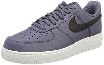NIKE Air Force 1 '07, Chaussures de Gymnastique Homme, Gris (Light Carbon