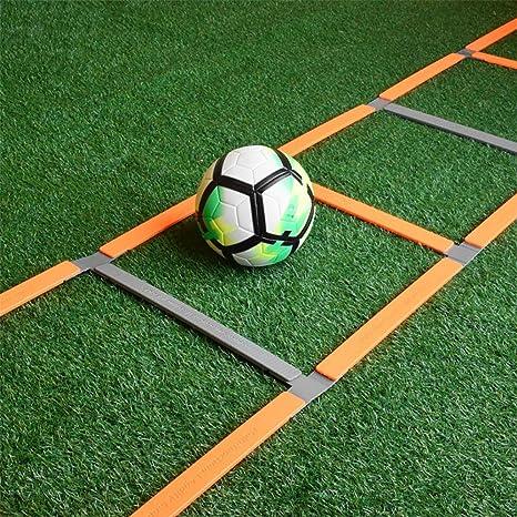 Xin 5M 11 peldaño Escalera de Agilidad, Velocidad de Entrenamiento de Ejercicios Escaleras Fútbol Fútbol Boxeo Juego de piernas Deportes Velocidad Entrenamiento de la Agilidad: Amazon.es: Deportes y aire libre