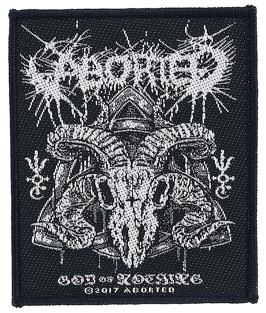 Aborted God Of Nothing Patch Real Music Fan Metal Band Jacket Sew On Applique
