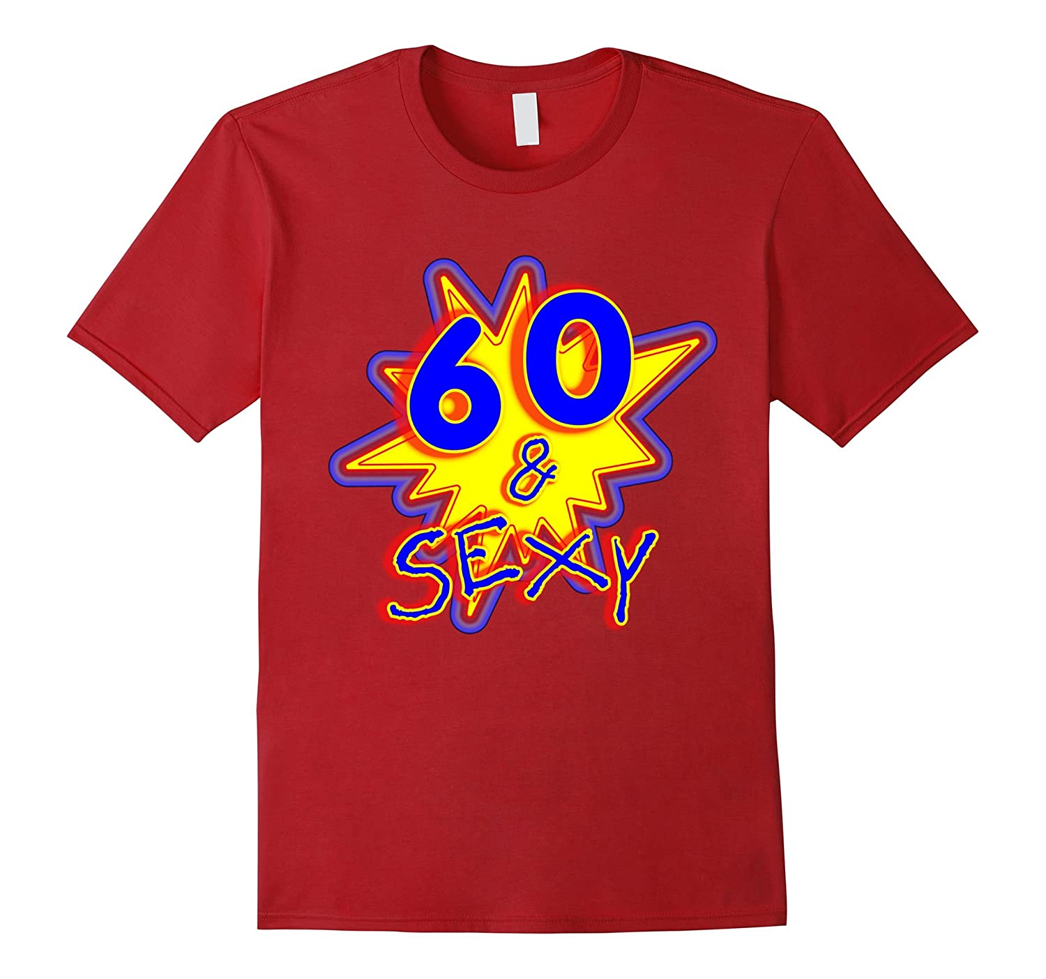 60  Sexy Funny Comic Book Style Novelty T-Shirt-PL