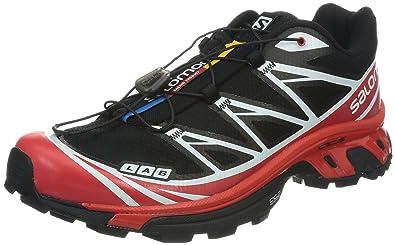 S Lab XT6 Softground Black Racing Red White 42: Amazon