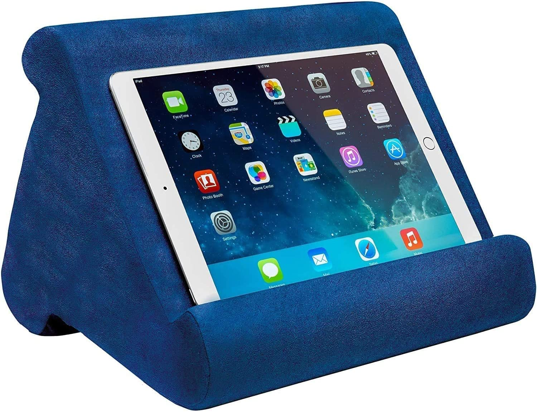 YOYOHO Multi Pillow Lap Stand Almohada para Pad Tablet e-Reader Azul