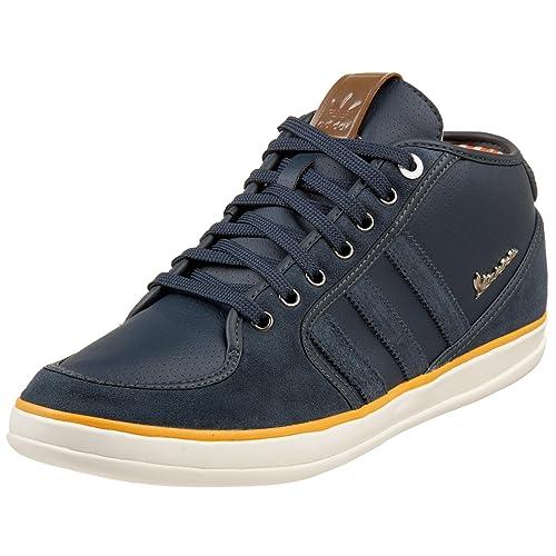 size 40 022a9 eb9b0 Adidas Originals Mens Vespa Px Mid Sneaker,BlueBlueLeather ...