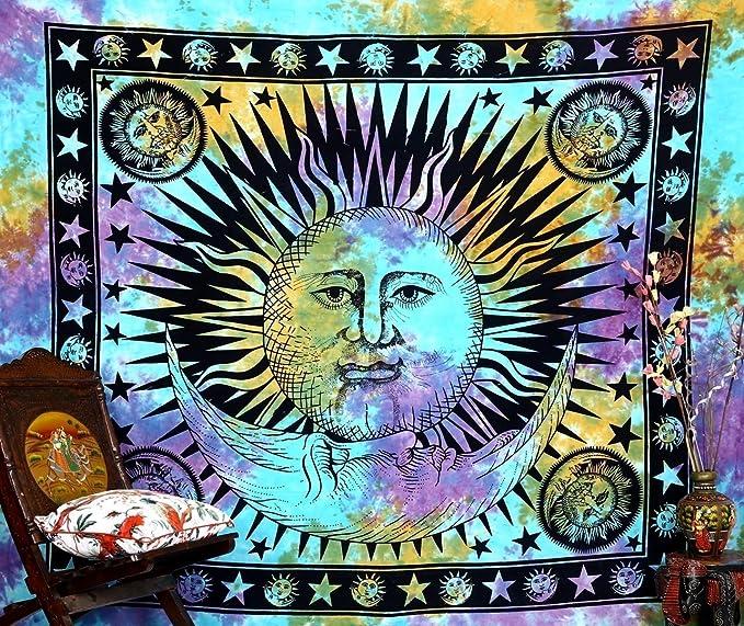 xkjymx Tapiz Protector Solar Chal Moda Alfombra Tela impresión ...