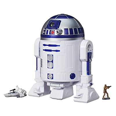 Star Wars The Force Awakens Micro Machines R2-D2 Playset: Hasbro: Toys & Games